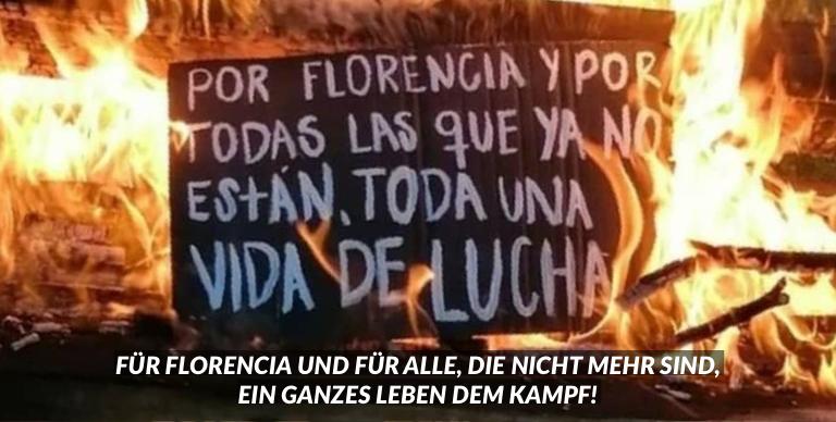 Gerechtigkeit für Florencia Romano!