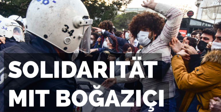YS DOKUMENTATION: Boğaziçi Student:innen Proteste
